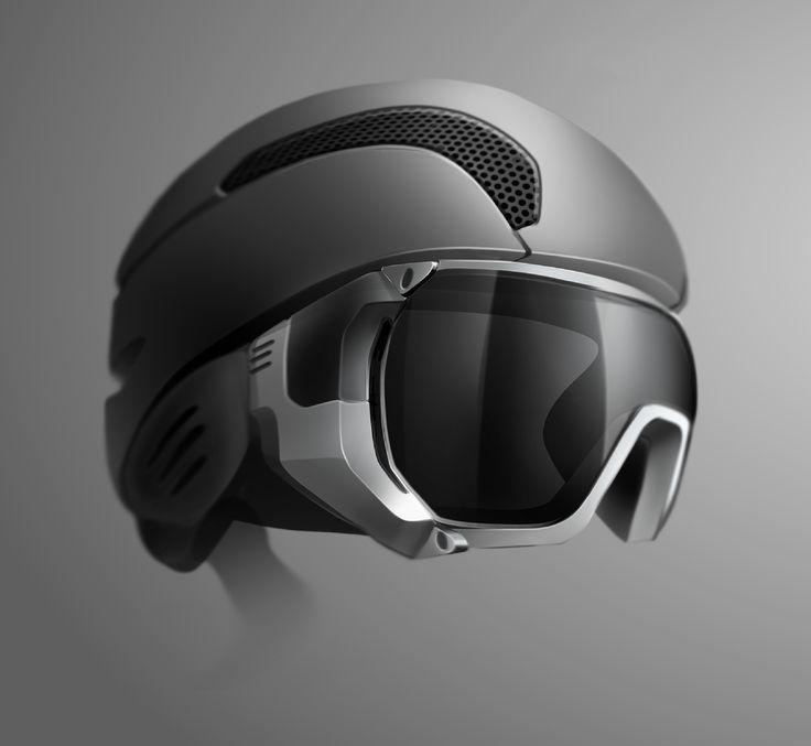 Ski Helmet + Goggle on Behance
