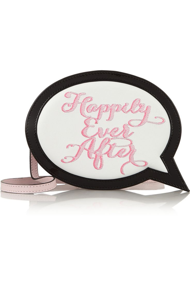 Sophia Webster Happily Ever After embroidered leather clutch €431.88