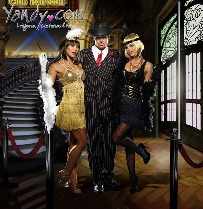 Great Gatsby! Super cute flapper costumes from Yandy.com