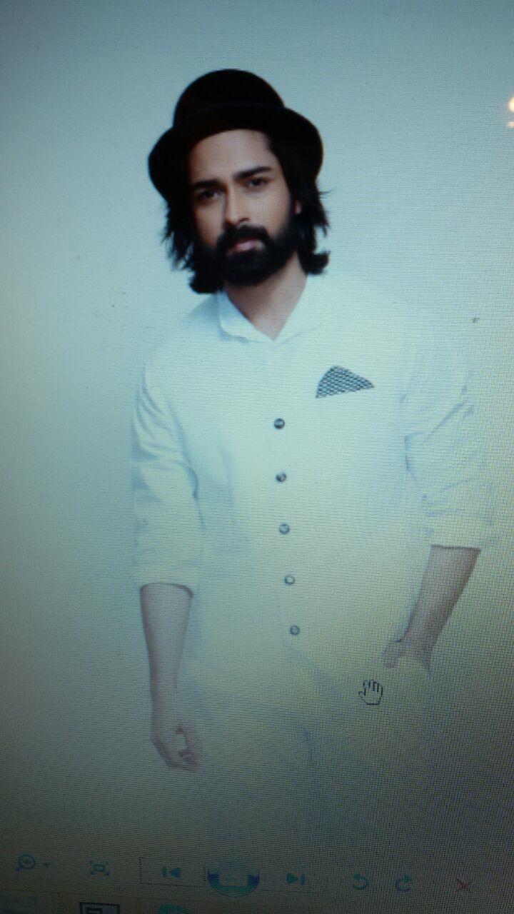 #longhair #indianmodel #hat #monochrome #white #amitranjan