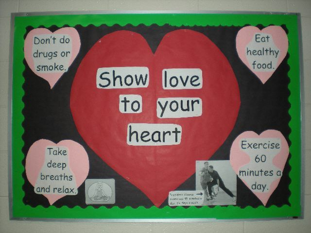 mental health bulletin board ideas | Bulletin Board Ideas for Physical Education