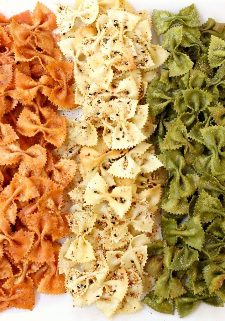 Forget boring potato chips! Make these Party Pasta Chips and watch them disappear!