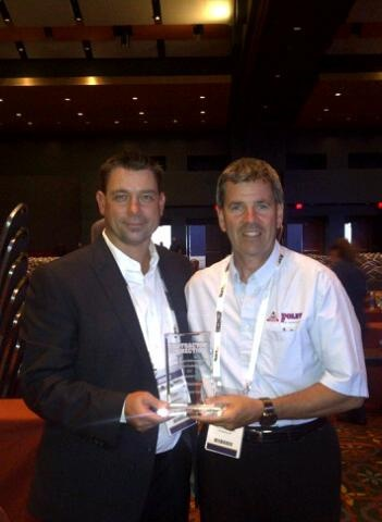 Honoured & thrilled to have been awarded the Best Restoration Contractor Eastern Canada award at the recent Contractor Connection Conference in Texas! Seen here is our owner and President, Mike Foley, with Daniel Loosemore from Contractor Connection Canada
