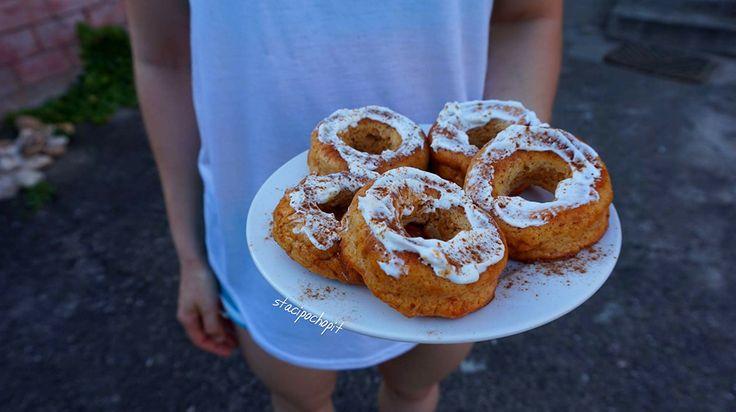 Nadýchané batátové donuty s vůní skořice