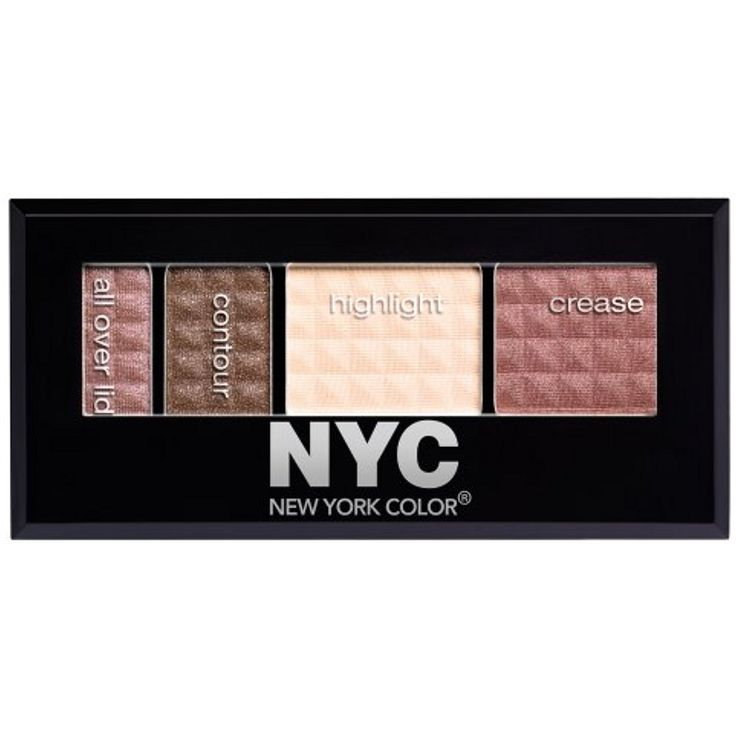 New York Color Metro Quartet Eyeshadow, South Street Seaport, 0.12 Ounce (Pack of 2) ** Find out more about the great product at the image link. (This is an affiliate link and I receive a commission for the sales) #EyeMakeup