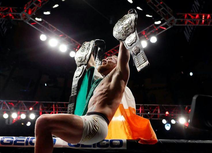 2 division champion Conor Magregor