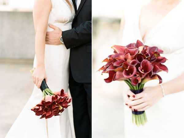 red calla lily bouquet: Bridesmaid, Bouquets Mi Flowers