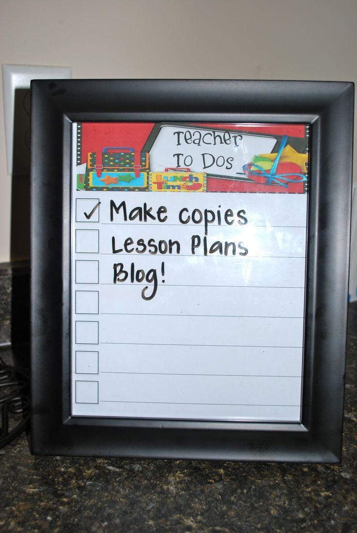 Use dry erase marker!