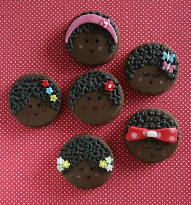 Xocolat and co: Galletas decoradas de Negritas / Decorated cookies