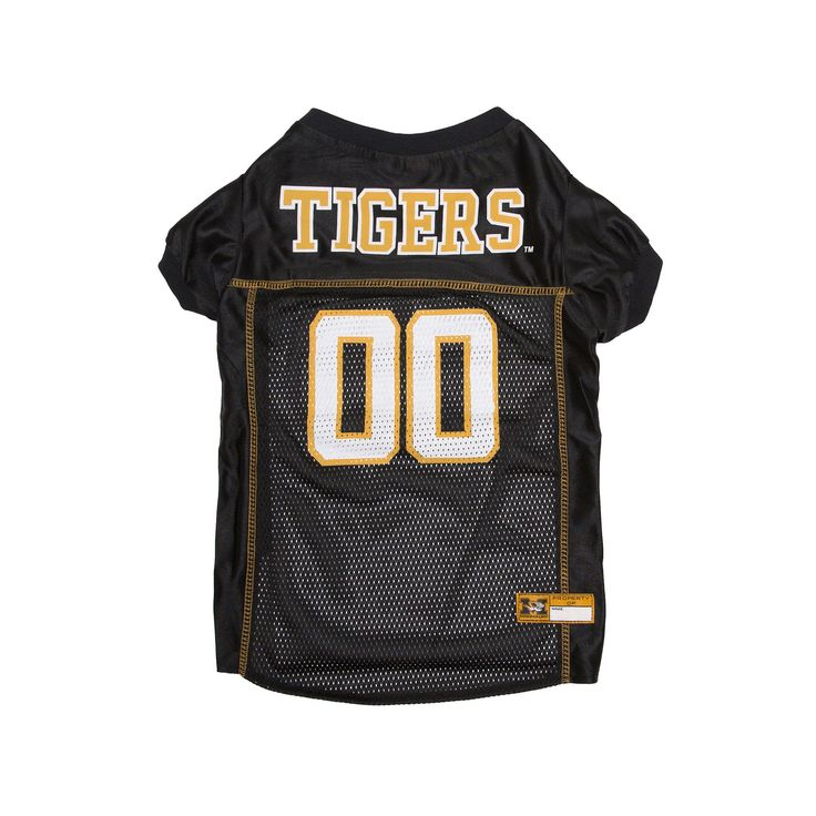 Missouri Tigers Mesh Pet Jersey, Multicolor