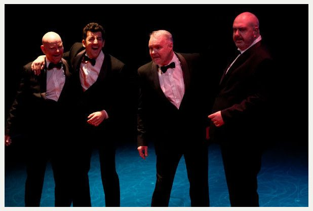 A review of a production of Bouncers by John Godber at The Everyman in Cheltenham, January 2015