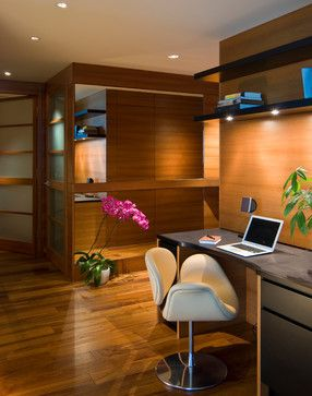 High-rise Condo - modern - home office - san francisco - Studio Becker- Bespoke Cabinetry and Millwork