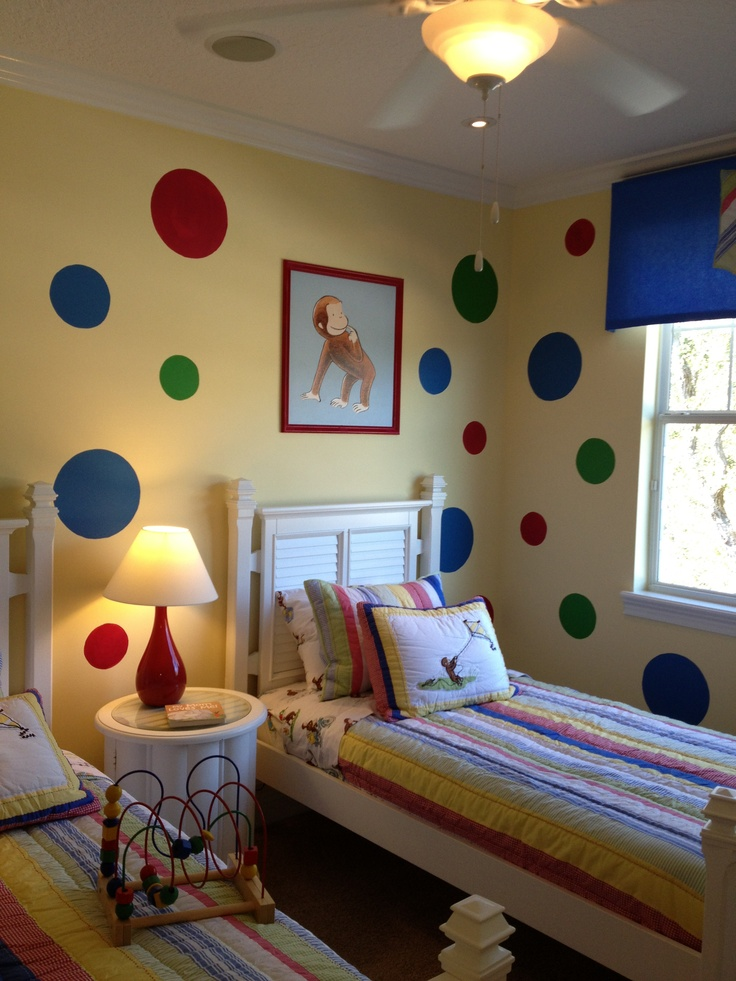 17 best images about kids decorating on pinterest for Curious george bedroom ideas