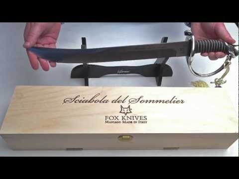 Champagnesabel Fox Cutlery (FX 2006)
