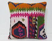 20x20 kilim pillow mediterranean throw pillow sofa 20x20 pillow boho pillow sham primitive decor pillow oversized couch pillow cover 26695