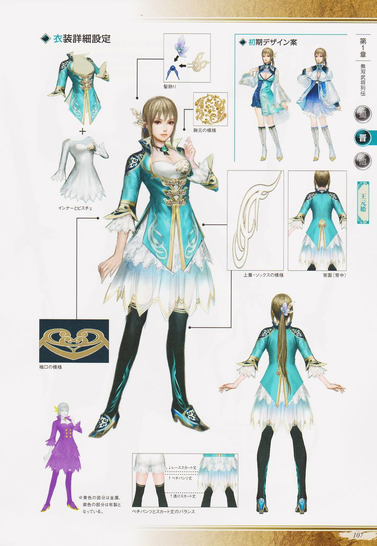 I can not wait to creat her outfit for Anime Boston coming up soon!!! Wang Yuanji - Dynasty Warriors 8