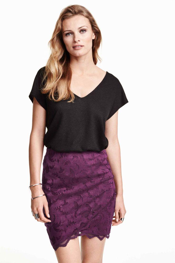Koronkowa spódnica | H&M
