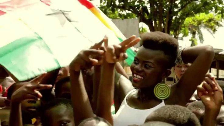 FIFA Mundial Brasil 2014 Go Go Black Stars...GOAL! Wiyaala's World Cup Song for Ghana (Official Video)