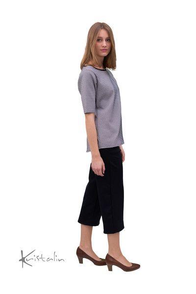 Kurzarmblusen - Oversizeshirt, viele Größen, oversize Shirt - ein Designerstück von kristalin_design bei DaWanda