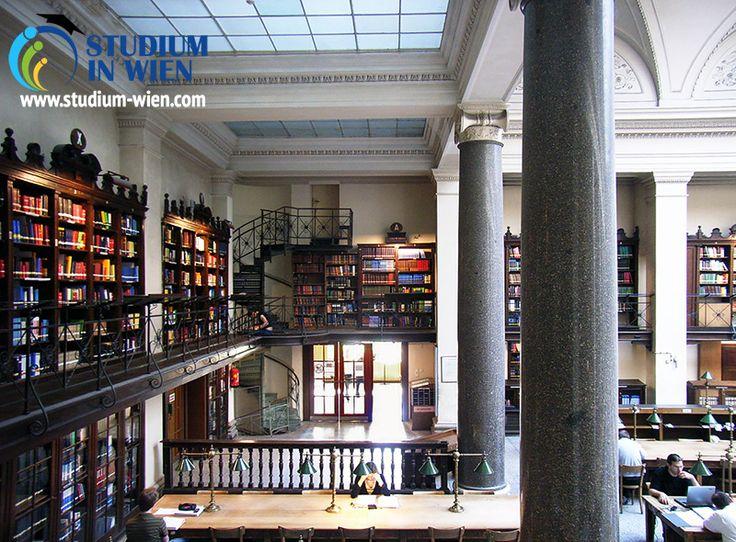Венский университет факультеты: здание библиотеки