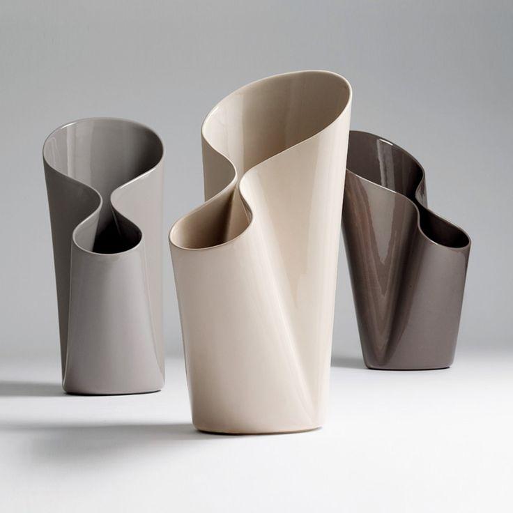 Umbravase vaso o portaombrelli grigio caldo lucido   complementi d'arredo   Prodotti   Bosa ★