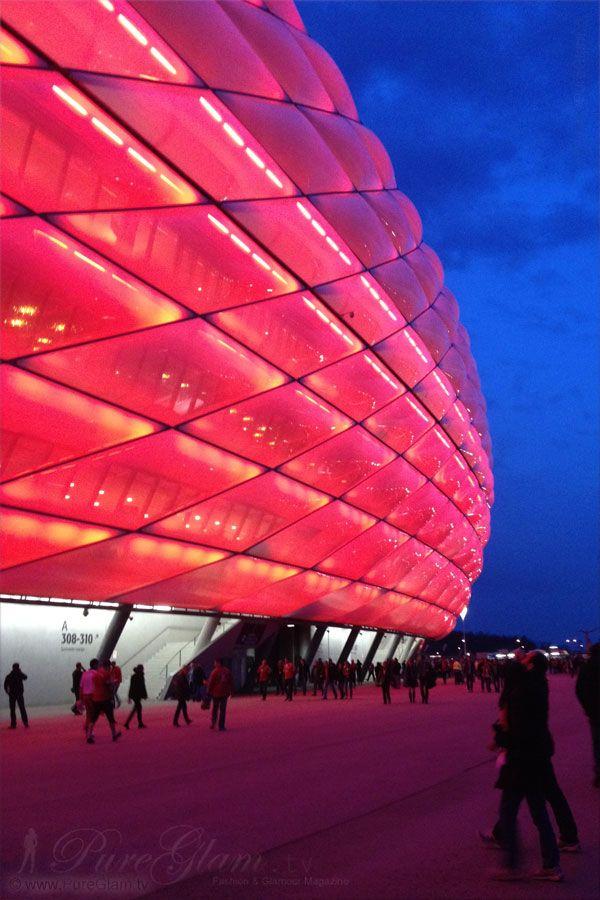 Allianz Arena München – Fußballheimat des FC Bayern München