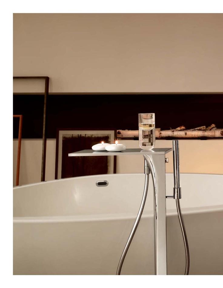 Axor Massaud bath filler - another view.