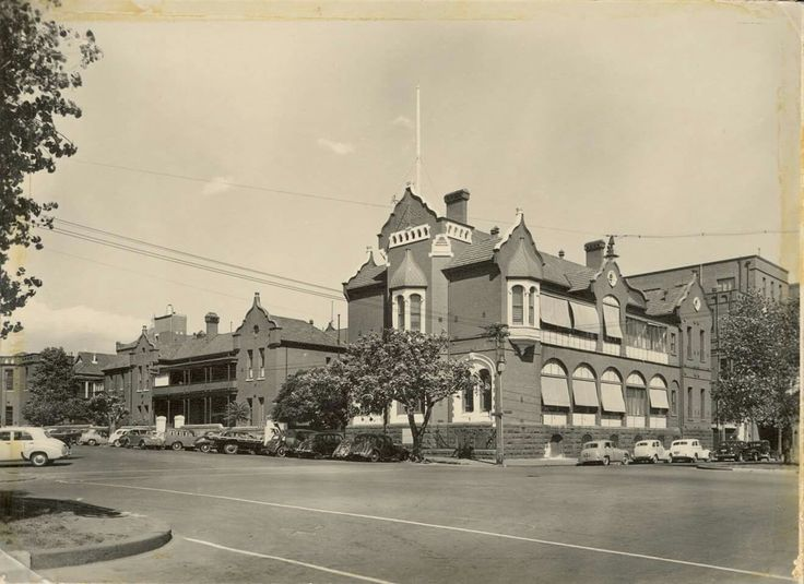 Royal Childrens Hospital in Carlton,Victoria (year unknown).