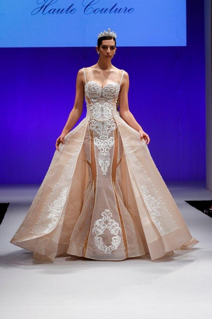 Mejores 37 imágenes de Vestidos de novia de color en Pinterest ...