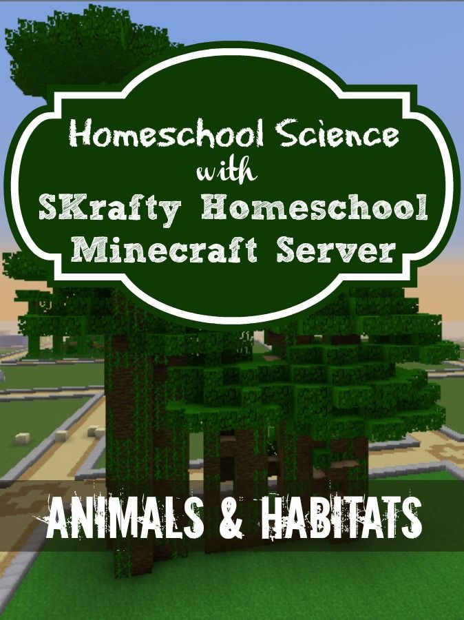Younger Minecrafters can learn about Animals & their Habitats with this Self-Paced Science Class