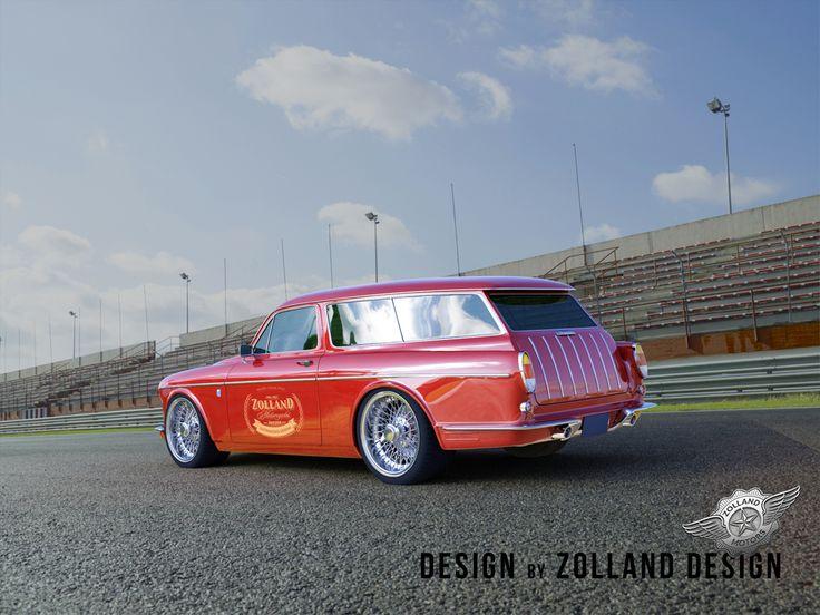 #custom #volvo #amazon #121 #wagon