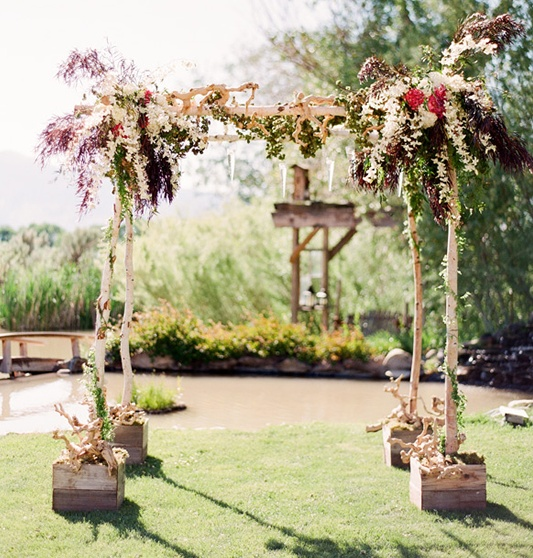 53 best wedding arch images on marriage outdoor