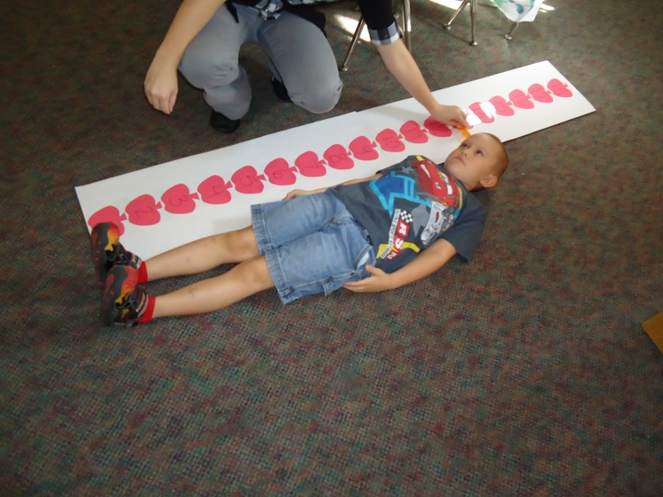 "'We measured ourselves and our friends in apple units to see ""how many apples tall"" we were.'"