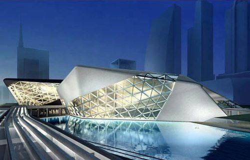 Guangzhou Opera House - Google Search