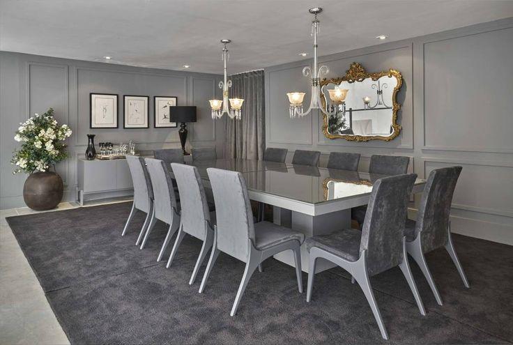 Decora Lider Salvador - Sala de Jantar Clássica e o Contemporânea: Salas de jantar modernas por Lider Interiores