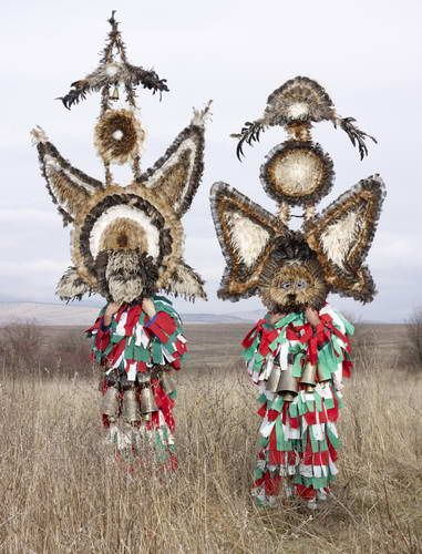 Eastern European and European Shaman Rituals Still Practiced Today. Wilder Mann by Charles Fréger