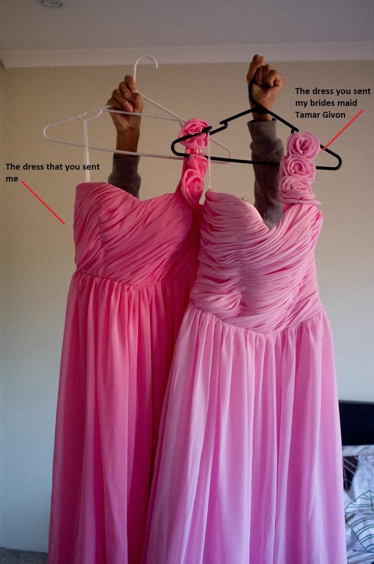 Bridesmaid dress & maid of honour