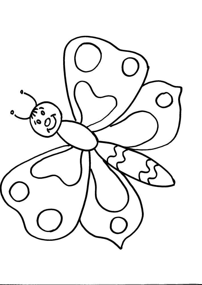 Disegno Farfalla Da Colorare Disegno Farfallina Da Colorare Disegni Da Colorare Lego Disegni Disegni Da Colorare