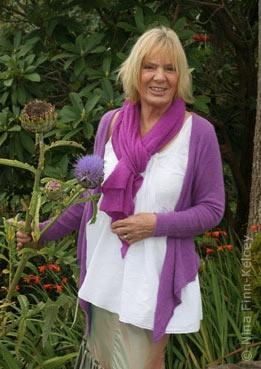 Pauline Bewick - the Irish artist.