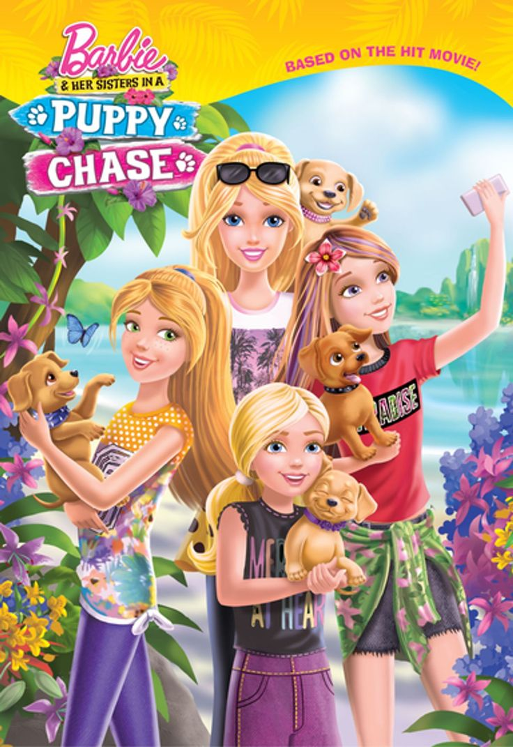 Barbie And Puppy Chase In 2020 Barbie And Her Sisters Barbie Movies Barbie Movies List