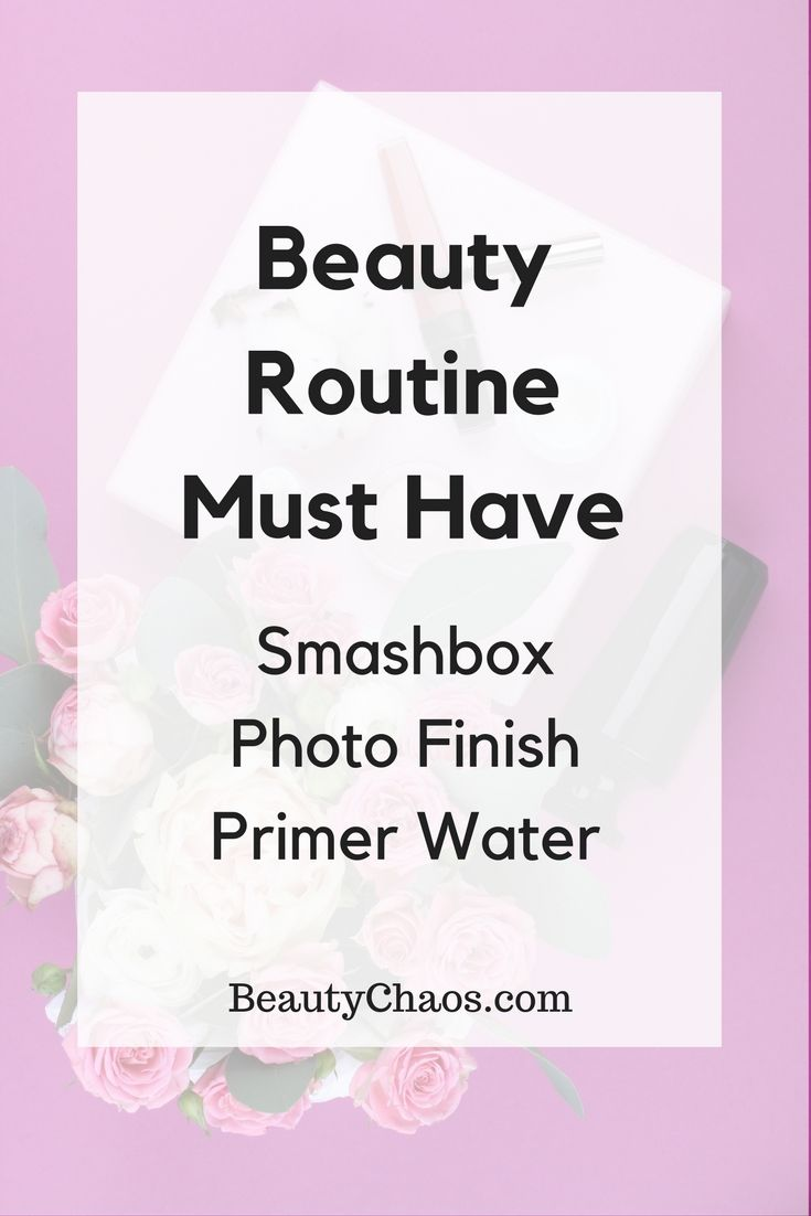 Smashbox Photo Finish Primer Water | Primer for Oily Skin
