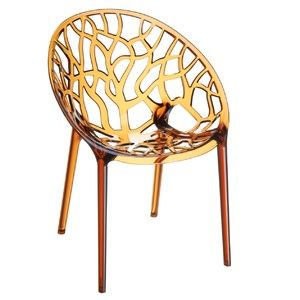 Židle Crystal Amber