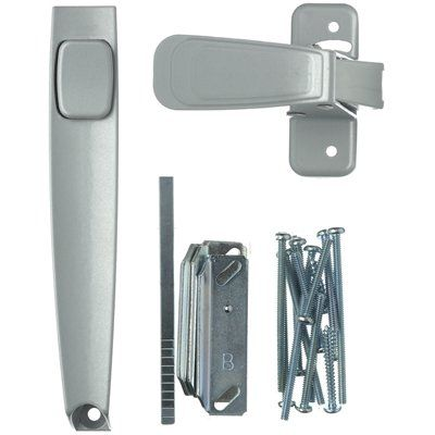 Shop Space Saver WRIGHT PRODUCTS Screen Door And Storm Door Push Button  Latch At Loweu0027s Canada. Find Our Selection Of Storm U0026 Screen Door Hardware  At The ...
