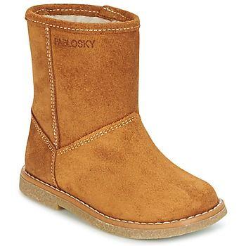 Zapatos Niña Botas de nieve Pablosky SALOMY Camel