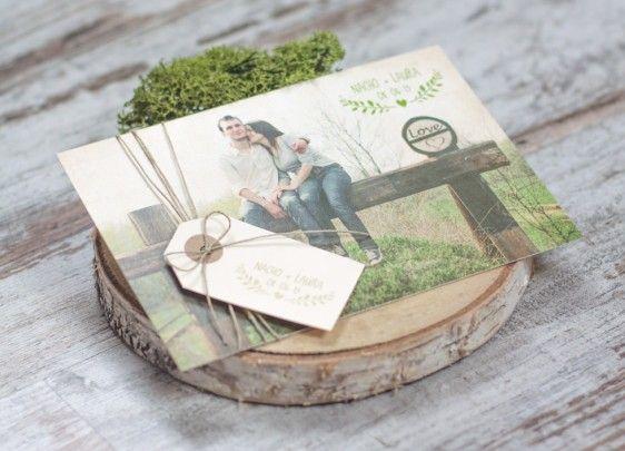 Lo que deseabas saber sobre diseños de invitaciones rústicas para boda y 11 ejemplos que van de lo moderno y original a lo romántico y hasta lo ecológico!
