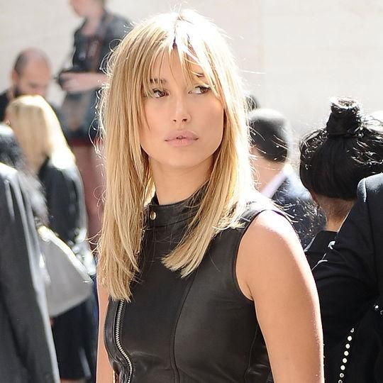 We get it, Justin Bieber - we think Hailey Baldwin's pretty stunning too. Come see her best hair and makeup looks (like these fabulous bangs)