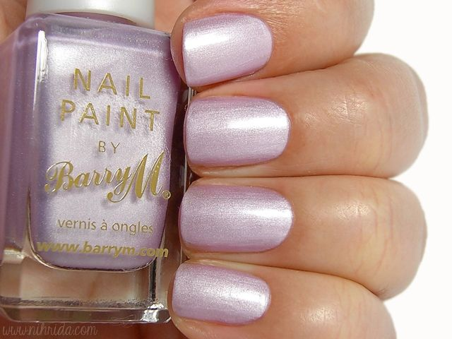 Barry M Silk Nail Effects in Heather