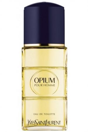 Opium Pour Homme Yves Saint Laurent for men - Top notes are black currant and star anise; middle notes are galanga and pepper; base notes are tolu balsam, atlas cedar and bourbon vanilla.