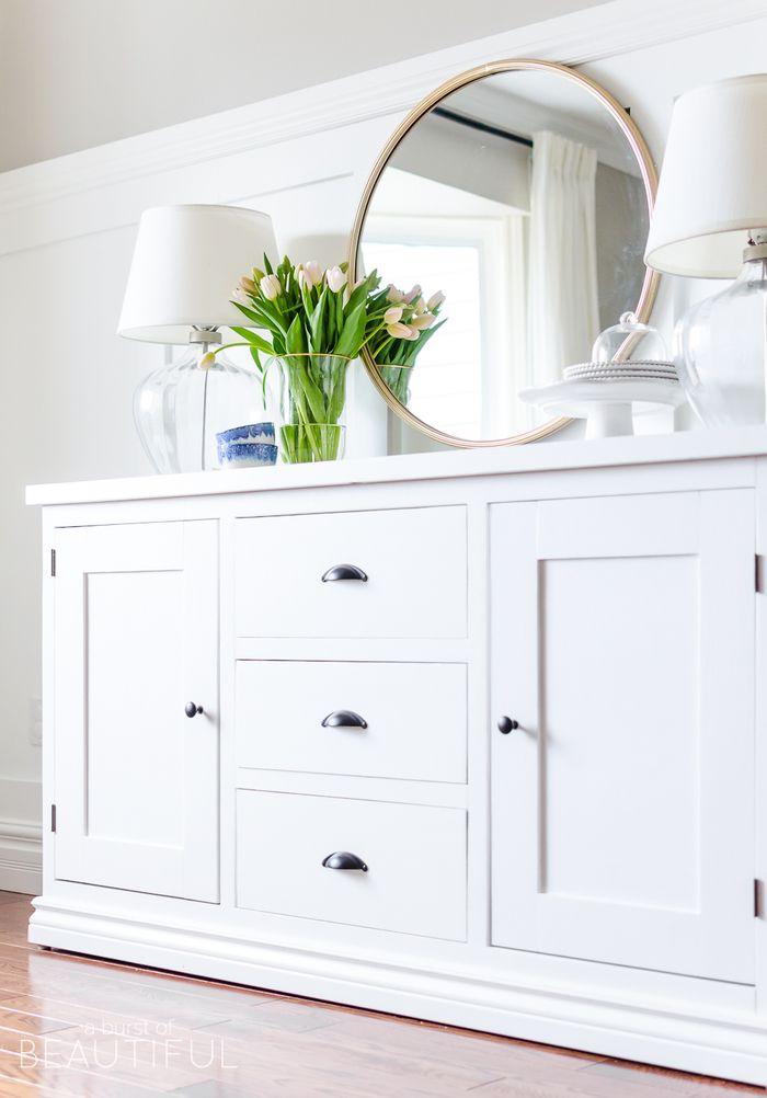 Die besten 25+ Großer weißer spiegel Ideen auf Pinterest   weißer ...