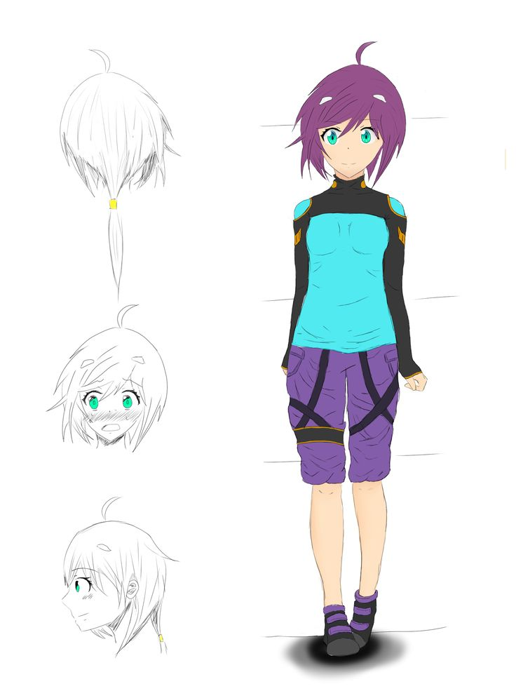 Mei Hanasaki Reference Sheet
